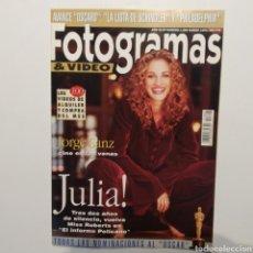 Cine: FOTOGRAMAS AÑO 47 NÚMERO 1806 MARZO 1994, JULIA ROBERTS, JORGE SANZ, LA LISTA DE SCHINDLER. Lote 197442263