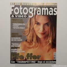 Cine: FOTOGRAMAS AÑO 49 NÚMERO 1835 SEPTIEMBRE 1996 MICHELLE PFEIFFER, KEANU REEVES, INDEPENDENCE DAY. Lote 197443041