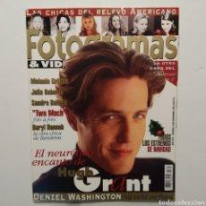 Cine: FOTOGRAMAS AÑO 49, NÚMERO 1826, DICIEMBRE 1995, HUGH GRANT, MELANIE GRIFFITH, JULIA ROBERTS, BULLOCK. Lote 197444216