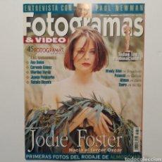Cine: FOTOGRAMAS AÑO 48 NÚMERO 1817 MARZO 1995, JODIE FOSTER, NATALIA DICENTA, JUANJO PUIGCORBÉ, ANA BELÉN. Lote 197445256