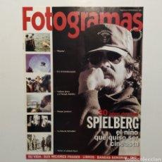 Cine: FOTOGRAMAS SUPLEMENTO ESPECIAL COLECCIONISTAS 1908 30 AÑOS DE CINE SPIELBERG, TIBURÓN, E.T.. Lote 197448346