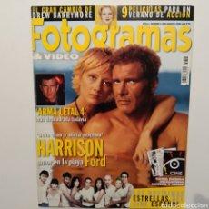 Cine: FOTOGRAMAS AÑO 55 NÚMERO 1858 AGOSTO 1998, HARRISON FORD, DREW BARRYMORE, ARMA LETAL 4. Lote 197448838