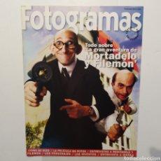 Cine: FOTOGRAMAS SUPLEMENTO ESPECIAL COLECCIONISTAS 1912 MORTADELO Y FILEMÓN. Lote 197449047