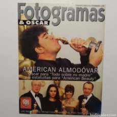 Cine: FOTOGRAMAS SUPLEMENTO ESPECIAL 1878 AMERICAN ALMODÓVAR, MICHAEL CAINE, ANGELINA JOLIE, HILARY SWANK. Lote 197449781