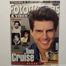 Cine: FOTOGRAMAS AÑO 50 NÚMERO 1842, ABRIL 1997, TOM CRUISE, JULIA ORMOND, WOODY HARRELSON, RALPH FIENNES. Lote 197450012
