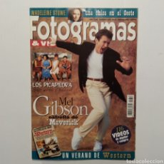 Cine: FOTOGRAMAS AÑO57 NÚMERO 1810 JÚLIO-AGOSTO 1994 MEL GIBSON, LOS PICAPIEDRA, MADELEINE STOWE. Lote 197452083