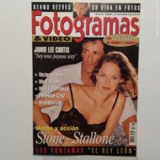 Cine: FOTOGRAMAS AÑO 48 NÚMERO 1813 NOVIEMBRE 1994 SHARON STONE, SILVESTER STALLONE, JAMIE LEE CURTIS. Lote 197452781