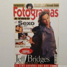 Cine: FOTOGRAMAS AÑO 47 NÚMERO 1808 MAYO 1994 JEFF BRIDGES. Lote 197453288