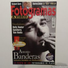 Cine: FOTOGRAMAS AÑO 47 NÚMERO 1807 ABRIL 1994 ANTONIO BANDERAS, HOLLY HUNTER, TOM HANKS. Lote 197453438