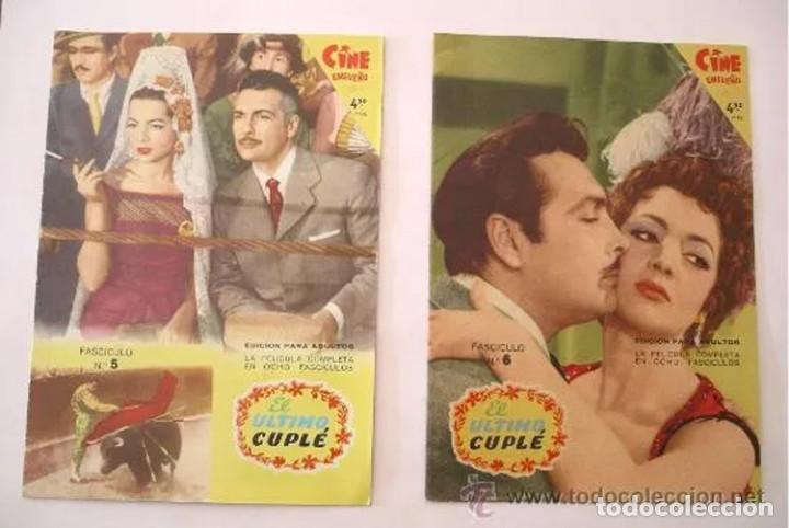 Cine: El Ultimo Cuplé completa 8 fascículos, Sara Montiel, año 58. colección Mandolina, Ediciones Fher - Foto 3 - 197817173