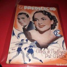 Cine: EL PREDILECTO CON OLIVIA DE HAVILLAND. COLECCIÓN CINEMA . ARGUMENTO NOVELADO CON FOTOGRAFIAS AÑO1940. Lote 197897111