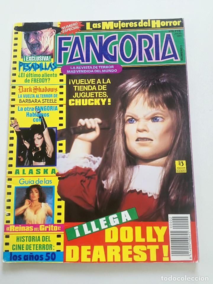 FANGORIA Nº 2 - ED. ZINCO 1991 // CINE GORE FANTASTTICO TERROR BARBARA STEELE SERIE B SLASHER (Cine - Revistas - Fangoria)