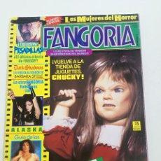 Cine: FANGORIA Nº 2 - ED. ZINCO 1991 // CINE GORE FANTASTTICO TERROR BARBARA STEELE SERIE B SLASHER. Lote 198413933