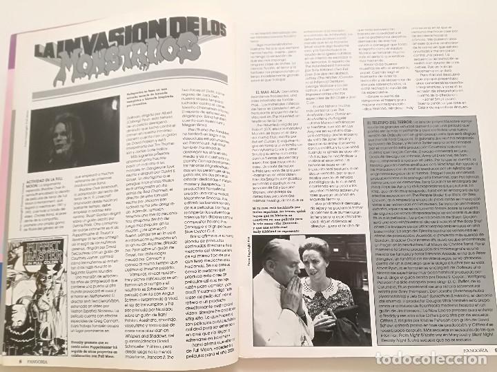 Cine: FANGORIA Nº 2 - ED. ZINCO 1991 // CINE GORE FANTASTTICO TERROR BARBARA STEELE SERIE B SLASHER - Foto 3 - 198413933