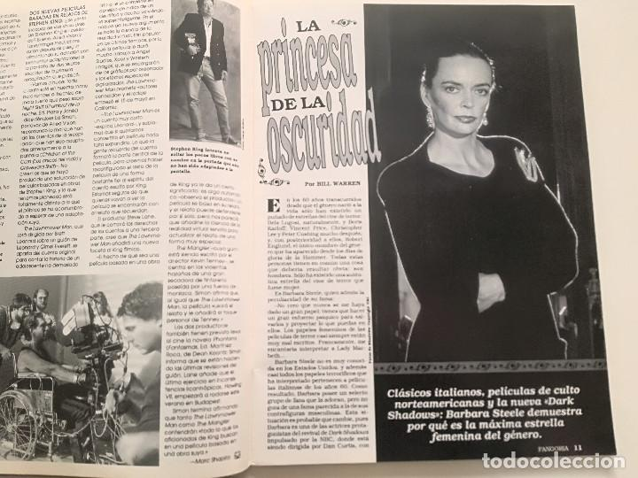 Cine: FANGORIA Nº 2 - ED. ZINCO 1991 // CINE GORE FANTASTTICO TERROR BARBARA STEELE SERIE B SLASHER - Foto 5 - 198413933