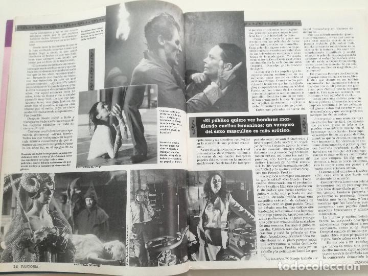 Cine: FANGORIA Nº 2 - ED. ZINCO 1991 // CINE GORE FANTASTTICO TERROR BARBARA STEELE SERIE B SLASHER - Foto 6 - 198413933