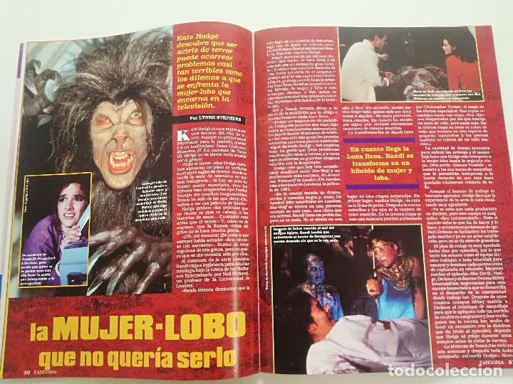 Cine: FANGORIA Nº 2 - ED. ZINCO 1991 // CINE GORE FANTASTTICO TERROR BARBARA STEELE SERIE B SLASHER - Foto 9 - 198413933