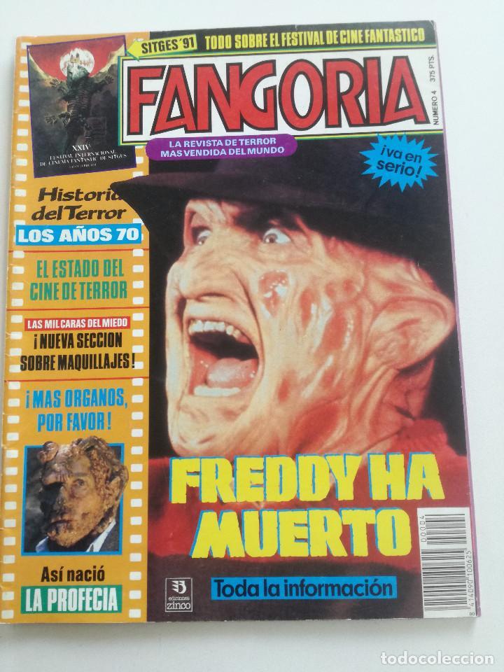 FANGORIA Nº 4 - ED. ZINCO 1991 // SITGES 91 CINE GORE FANTASTICO TERROR SERIE B SLASHER AÑOS 70 (Cine - Revistas - Fangoria)