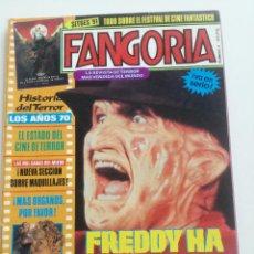Cine: FANGORIA Nº 4 - ED. ZINCO 1991 // SITGES 91 CINE GORE FANTASTICO TERROR SERIE B SLASHER AÑOS 70. Lote 198414156