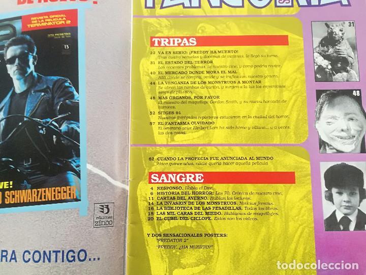 Cine: FANGORIA Nº 4 - ED. ZINCO 1991 // SITGES 91 CINE GORE FANTASTICO TERROR SERIE B SLASHER AÑOS 70 - Foto 2 - 198414156