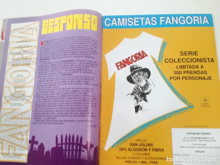 Cine: FANGORIA Nº 4 - ED. ZINCO 1991 // SITGES 91 CINE GORE FANTASTICO TERROR SERIE B SLASHER AÑOS 70 - Foto 3 - 198414156
