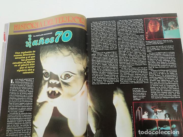Cine: FANGORIA Nº 4 - ED. ZINCO 1991 // SITGES 91 CINE GORE FANTASTICO TERROR SERIE B SLASHER AÑOS 70 - Foto 4 - 198414156