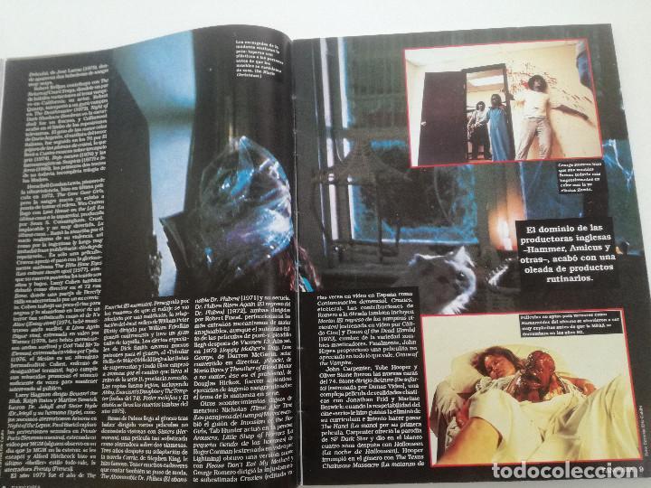 Cine: FANGORIA Nº 4 - ED. ZINCO 1991 // SITGES 91 CINE GORE FANTASTICO TERROR SERIE B SLASHER AÑOS 70 - Foto 5 - 198414156