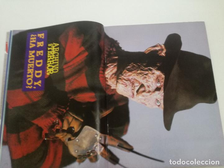 Cine: FANGORIA Nº 4 - ED. ZINCO 1991 // SITGES 91 CINE GORE FANTASTICO TERROR SERIE B SLASHER AÑOS 70 - Foto 9 - 198414156