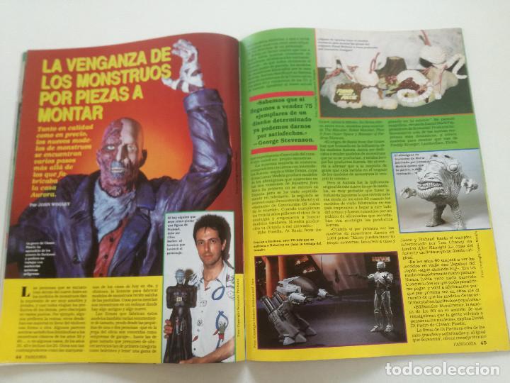 Cine: FANGORIA Nº 4 - ED. ZINCO 1991 // SITGES 91 CINE GORE FANTASTICO TERROR SERIE B SLASHER AÑOS 70 - Foto 11 - 198414156