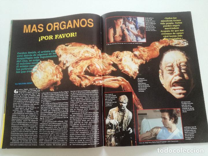 Cine: FANGORIA Nº 4 - ED. ZINCO 1991 // SITGES 91 CINE GORE FANTASTICO TERROR SERIE B SLASHER AÑOS 70 - Foto 13 - 198414156