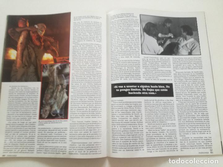Cine: FANGORIA Nº 4 - ED. ZINCO 1991 // SITGES 91 CINE GORE FANTASTICO TERROR SERIE B SLASHER AÑOS 70 - Foto 14 - 198414156