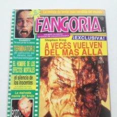 Cine: FANGORIA Nº 1 - ED. ZINCO 1991 // CINE GORE FANTASTICO TERROR SERIE B SLASHER SCANNERS TERMINATOR 2. Lote 198414378