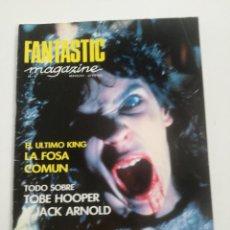 Cine: FANTASTIC MAGAZINE Nº 9 - MAYO 1991 // CINE FANTASTICO SCI-FI TERROR GORE TOBE HOOPER ZOMBIES. Lote 198467940