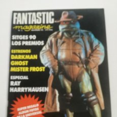 Cine: FANTASTIC MAGAZINE Nº 3 -ABRIL 1990 // CINE FANTASTICO SCI-FI TERROR RAY HARRYHAUSEN TORTUGAS NINJA. Lote 198468122