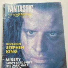 Cine: FANTASTIC MAGAZINE Nº 8 - MAYO 1991 // CINE FANTASTICO SCI-FI TERROR STEPHEN KING IT LOS INMORTALES. Lote 198468405