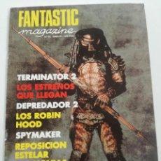 Cine: FANTASTIC MAGAZINE Nº 10 - JUNIO 1991 // CINE FANTASTICO SCI-FI TERROR JAMES BOND 007 DEPREDADOR 2. Lote 198468758