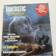 Cine: FANTASTIC MAGAZINE Nº 5 - ENERO 1991 // CINE FANTASTICO SCI-FI TERROR JAMES BOND 007 WES CRAVEN. Lote 198469172