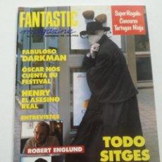 Cine: FANTASTIC MAGAZINE Nº 4- DICIEMBRE 1991 // CINE FANTASTICO SCI-FI TERROR SITGES DARKAMAN J LUIS GOAS. Lote 198469400