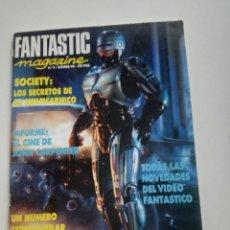 Cine: FANTASTIC MAGAZINE Nº 2 - OCTUBRE 1990// CINE FANTASTICO SCI-FI TERROR JOHN CARPENTER TERENCE FISHER. Lote 198469907
