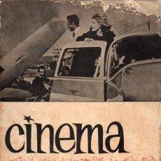 Cine: CINEMA UNIVERSITARIO Nº 19 - REVISTA DEL CINE CLUB DEL SEU DE SALAMANCA. Lote 198470390