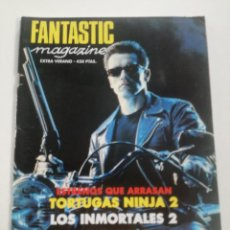Cine: FANTASTIC MAGAZINE - EXTRA VERANO 1991 // CINE FANTASTICO SCI-FI TERROR JAMES BOND 007 TERMINATOR. Lote 198470646