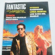 Cine: FANTASTIC MAGAZINE Nº 6 - FEBRERO 1991 // CINE FANTASTICO SCI-FI TERROR DAVID LYNCH TWIN PEAKS . Lote 198470853