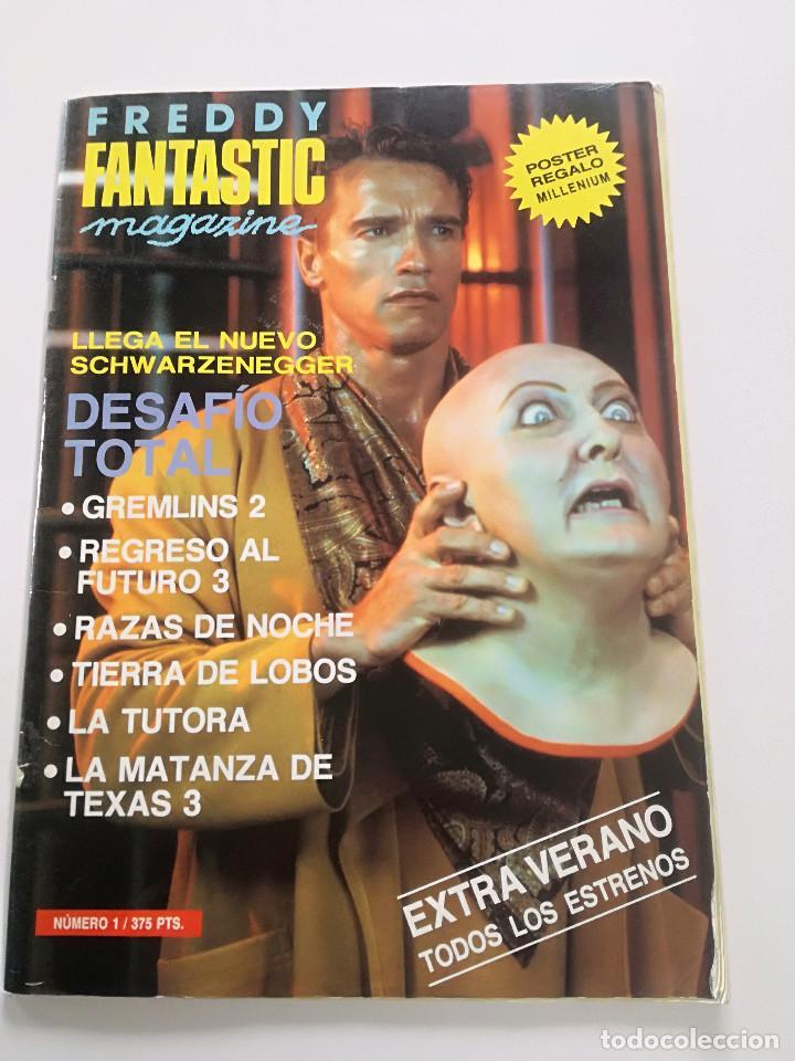 FANTASTIC MAGAZINE - EXTRA VERANO 1990 // CINE FANTASTICO DESAFIO TOTAL GREMLIMS RAZAS DE NOCHE (Cine - Revistas - Otros)
