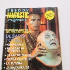 Cinéma: FANTASTIC MAGAZINE - EXTRA VERANO 1990 // CINE FANTASTICO DESAFIO TOTAL GREMLIMS RAZAS DE NOCHE. Lote 198471371