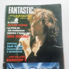 Cine: FANTASTIC MAGAZINE Nº 7 - MARZO 1991 // CINE FANTASTICO SCI-FI TERROR THE DOORS SAM RAIMI ROBOCOP. Lote 198471695