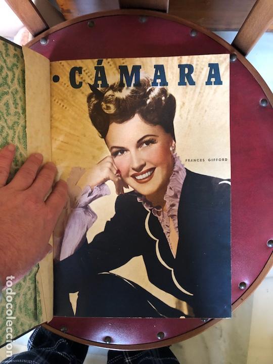 Cine: Lote de revistas camara, encuadernadas - Foto 2 - 198530458