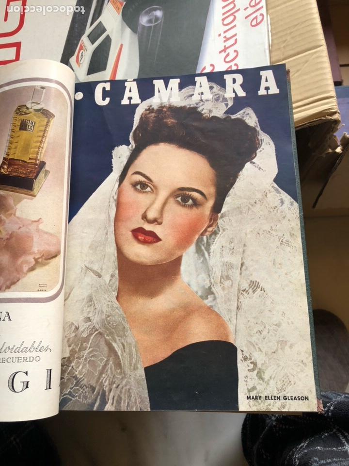 Cine: Lote de revistas camara, encuadernadas - Foto 3 - 198530458