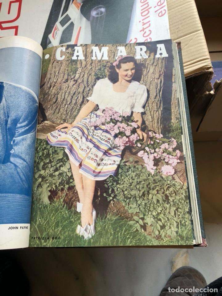 Cine: Lote de revistas camara, encuadernadas - Foto 4 - 198530458