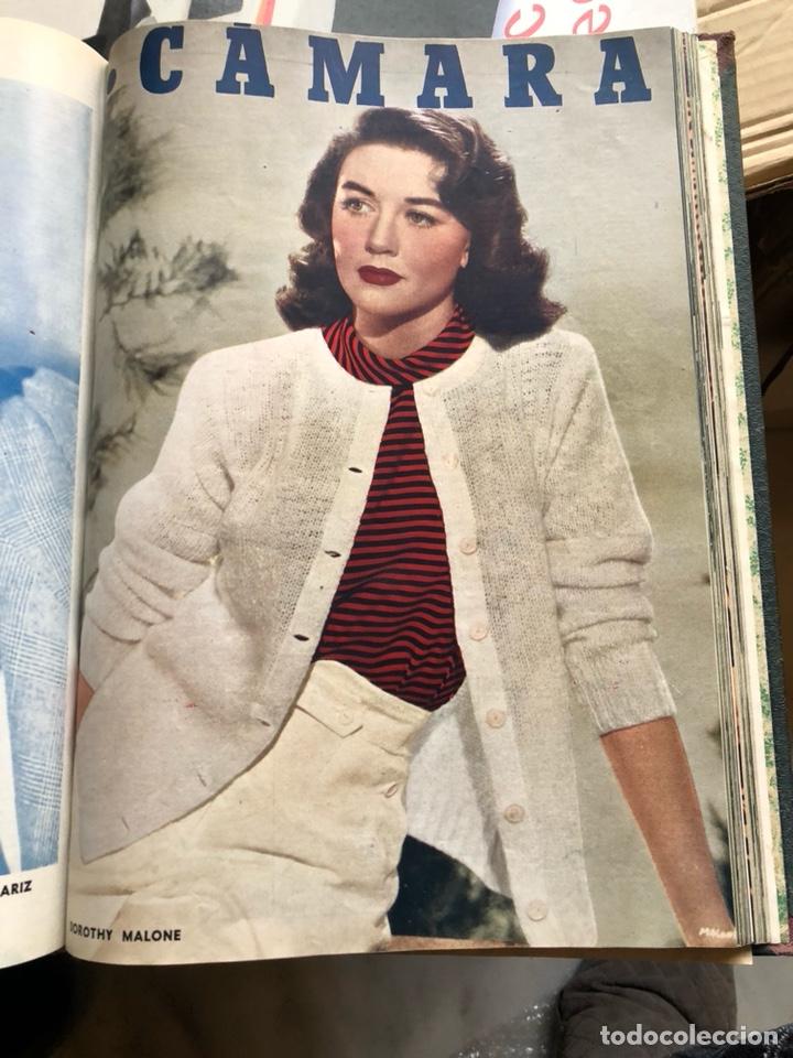 Cine: Lote de revistas camara, encuadernadas - Foto 6 - 198530458