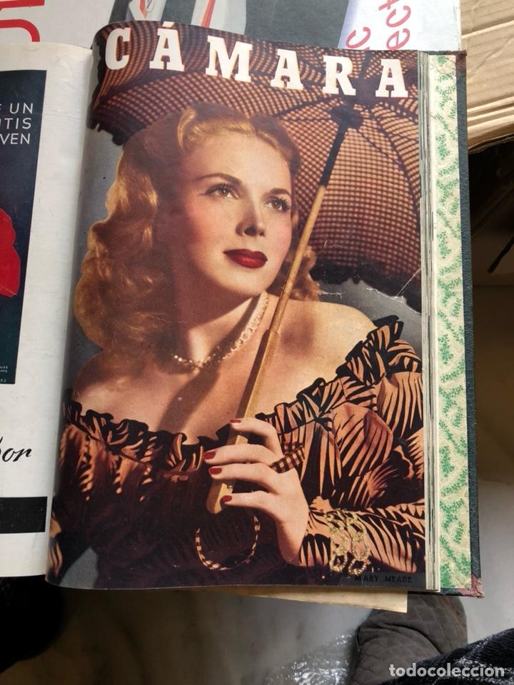 Cine: Lote de revistas camara, encuadernadas - Foto 7 - 198530458